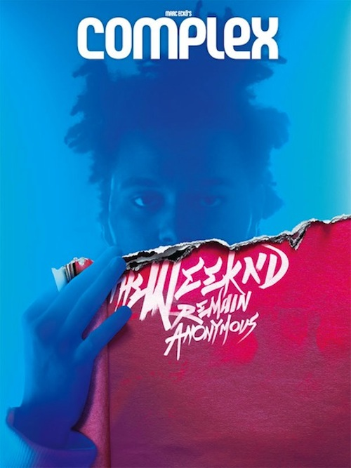The Weeknd Complex Cover