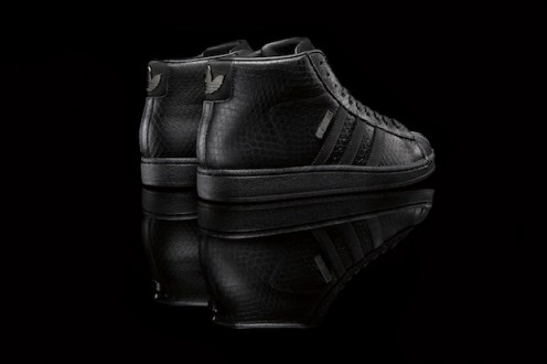 Big Sean adidas Originals Pro Model II All Black 2