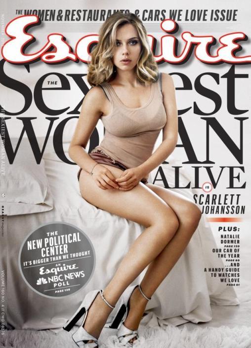 Scarlett Johansson Esquire 2013