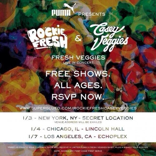 Rockie Fresh Casey Veggies Fresh Veggies Tour