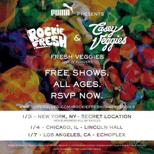 Rockie Fresh Casey Veggies Fresh Veggies Tour