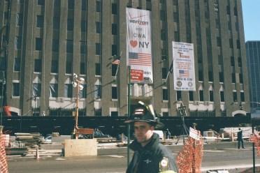 Y Yoga Movie Prod Still World Trade Center Fireman