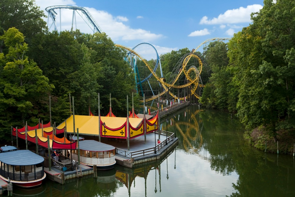 Busch Gardens® Williamsburg offers adventures for the entire family. Attractions at the European-themed park range from world-class coasters to scenic river cruises. ©2015 SeaWorld Parks & Entertainment, Inc. All Rights Reserved.