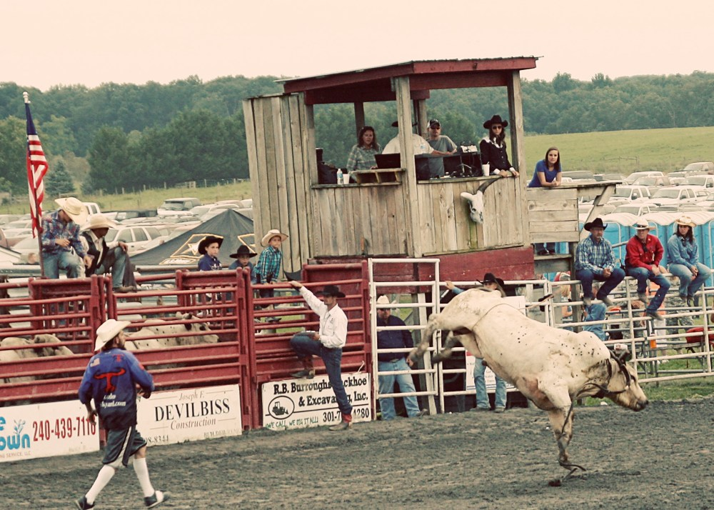 Frederick Rodeo - Frederick Farms: The Cool Part of Living in the Boonies