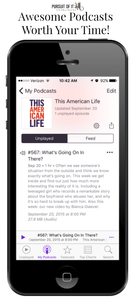 10 Awesome Podcasts Worth Your Time!