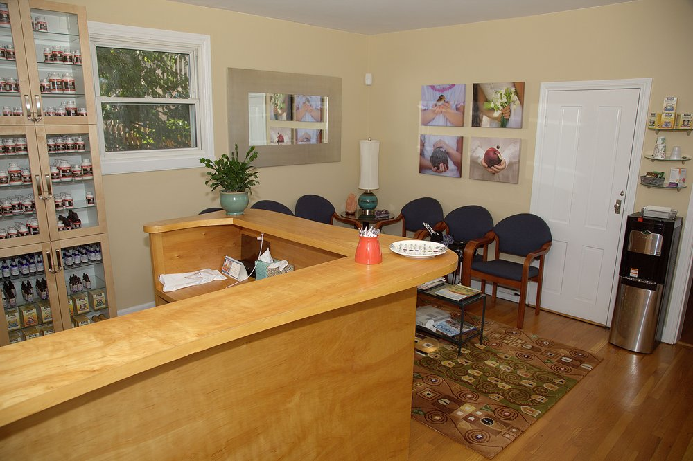 The Many Benefits Of Regular Massage Therapy: The waiting room at Seven Embers Healing in Frederick, MD