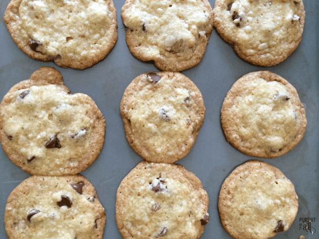 Coconut Chocolate Chip Cookies - easy to make and oh so good!