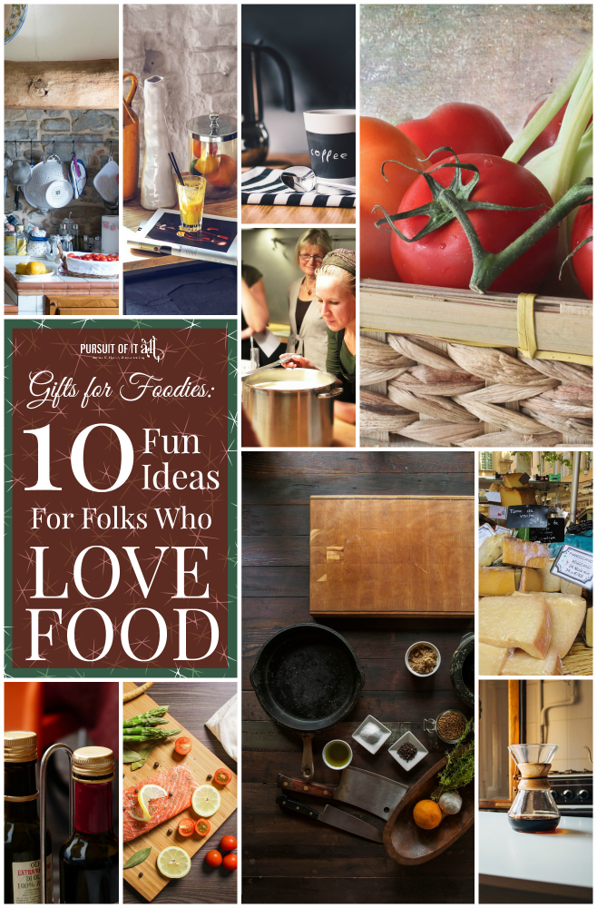 Gifts For Foodies: 10 Fun Ideas For Folks Who Love Food!