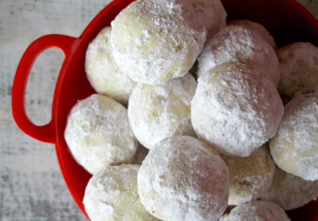 Lime snowball cookies are the perfect addition to your holiday dessert table!