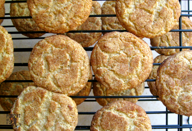 Homemade Snickerdoodles are THE BEST!