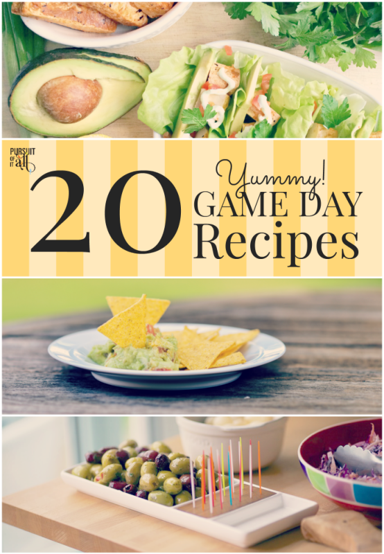 20 Yummy Game Day Recipes To Fill Your Belly!!!