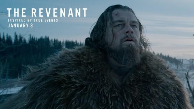 """The Revenant,"" starring Leo DiCaprio"