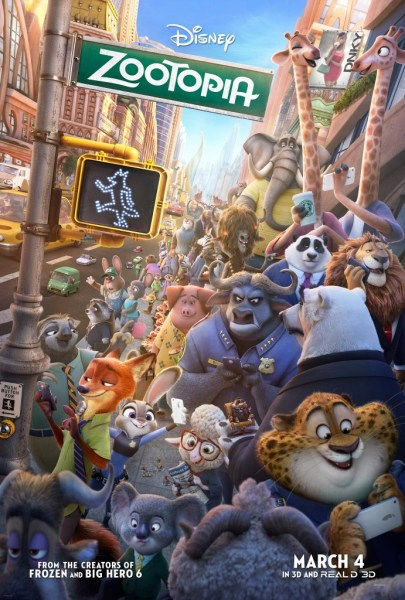 Zootopia may be the best movie in 2016!!