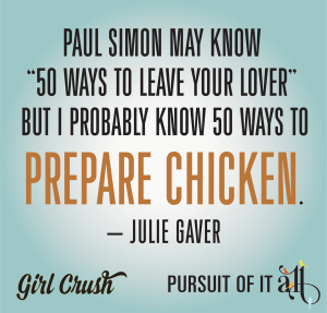 If we know one thing, it's that Julie Gaver lives up to the hype. And that's why she's a Pursuit Girl Crush!