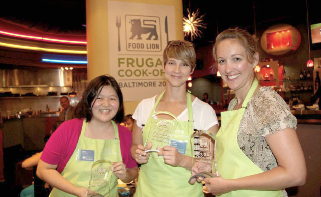 Liza won the Food Lion Frugal Cook-Off in 2013 — get a behind the scenes look!