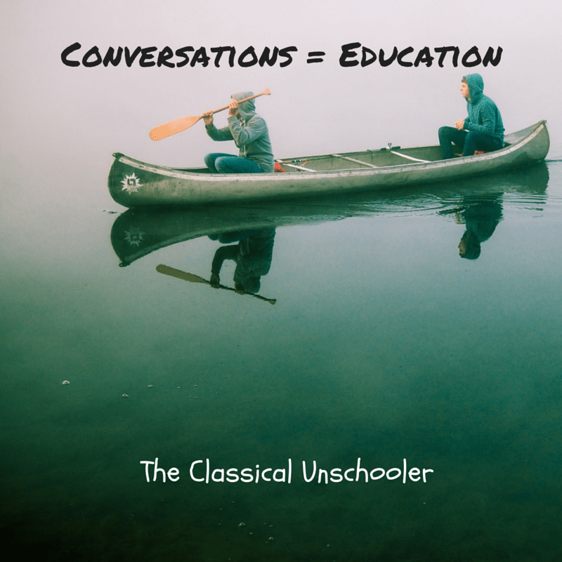 Conversations = Education