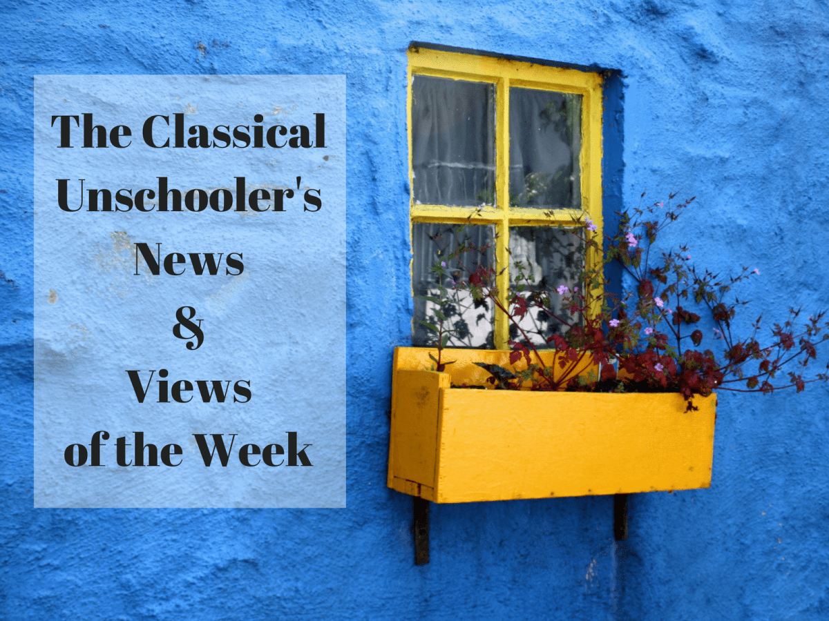 Homeschooling News and Views of the Week