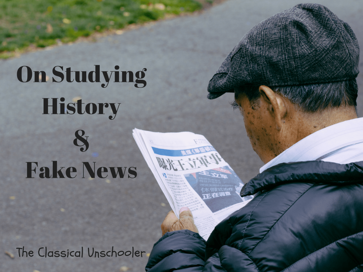 On Studying History & Fake News