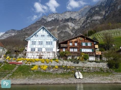 Quinten - Dorf am Fuße der Churfirsten