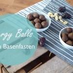 Energy Balls beim Basenfasten