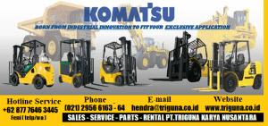 FORKLIFT KOMATSU