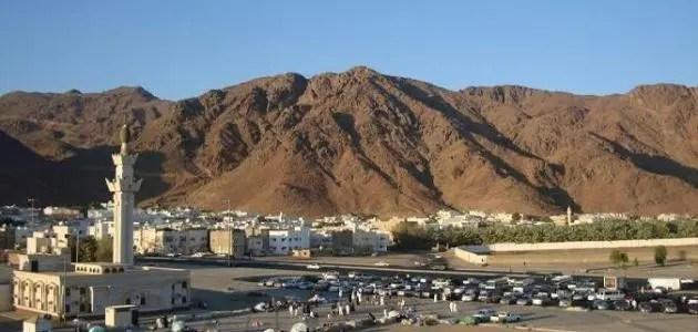 Letak Gunung Uhud di Kota Madinah