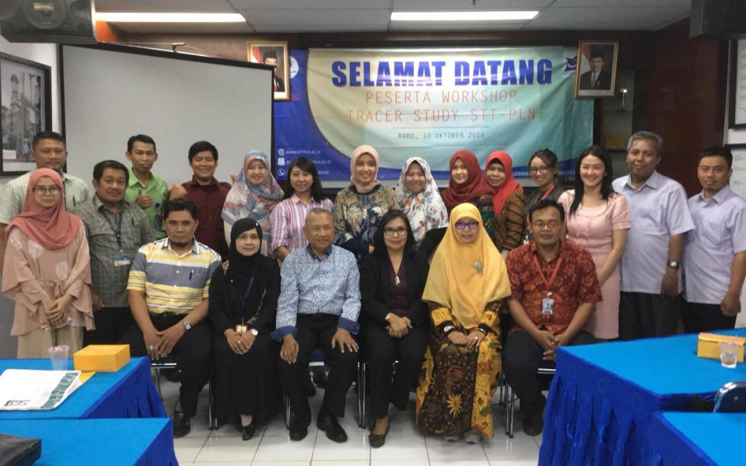 Workshop Tracer Study Tahun 2018  Di Kampus STT-PLN Cengkareng Jakarta Barat.