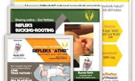 "Sharing Class Online ""Seri Refleks"""