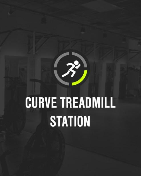 Curve Treadmill Station