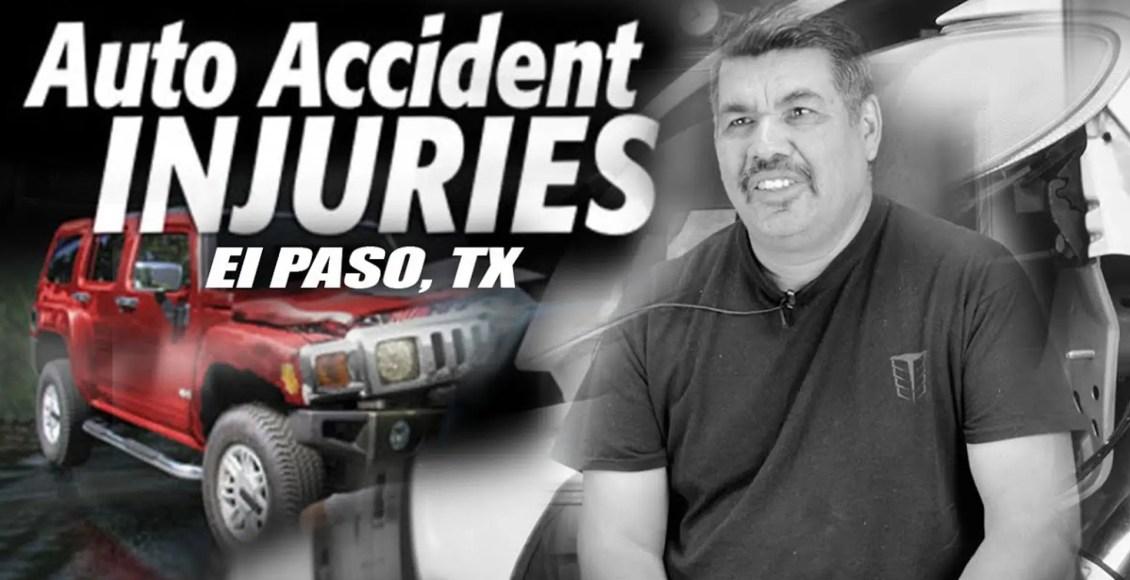 therapy auto injuries el paso tx.