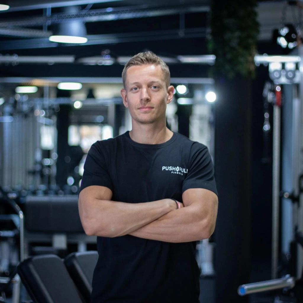 Personal trainer Roald Smit