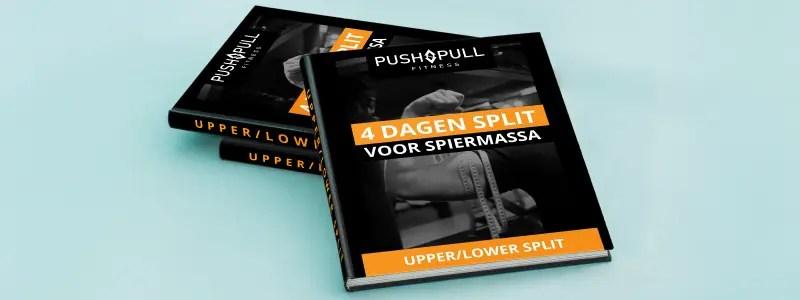 Upper lower split, het beste 4 dagen trainingsschema?