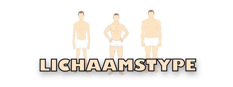lichaamstype: ectomorph, endomorph, mesomorph
