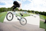 Seth Peterson with a decade in Plymouth, MN. We had a small crew riding at a local plaza on a super hot day. I hadn't planned on pulling out the camera, but Seth started trying a few of these and I had to grab a quick shot.