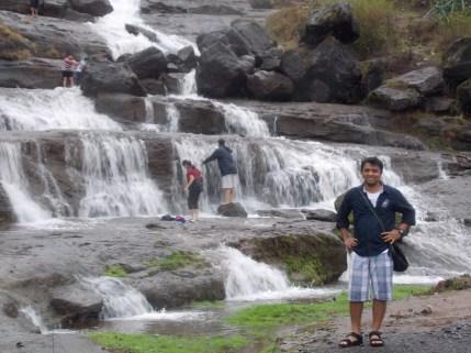 Waterfall at Bhaje Caves