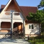 Домики котеджного поселка Пушкинский дол