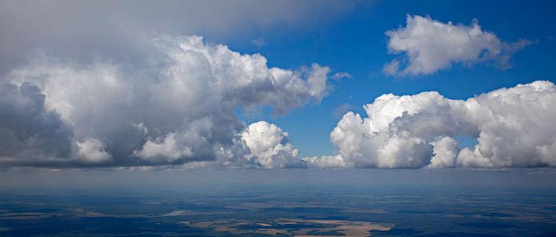 Кучевые облака