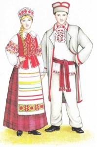 Белорусы национальный костюм