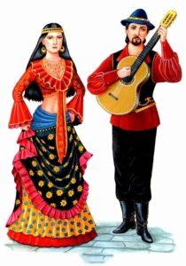 Цыгане национальный костюм