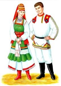 Мордвины национальный костюм