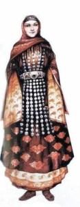 Табасараны национальный костюм