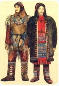 Эвенки национальный костюм