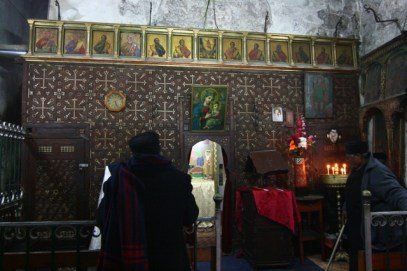 The Ethiopian Chapel inside the Church of Holy Sepulchre