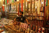 The shopkeeper and his items
