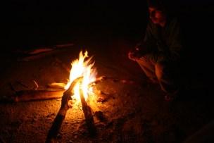 Campfire at Shivpuri