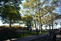 Battery Park - the starting point of the trip to Statue of Liberty
