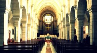 Inside St. Catherine's Church