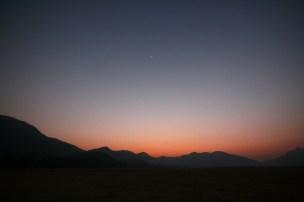 Sunset on Mahanadi