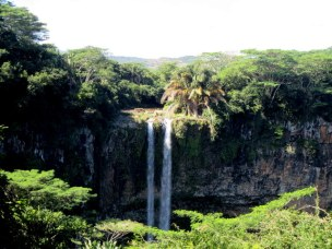 The Chamarel Waterfalls