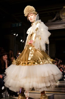 Pam Hogg A_W14.GOLD BALL GOWN